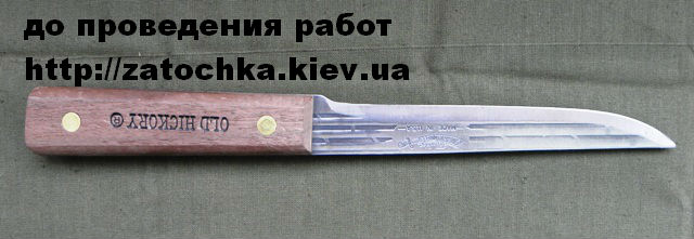 заточка Ontario Knife Company Old Hickory7