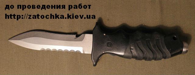 заточка ножа для дайвинга1