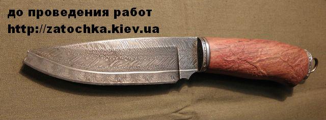 Заточить охотничий нож в киеве нож cold steel 58tmak ak-47