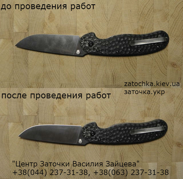 нож, заточка ножа