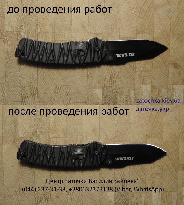 нож, заточка